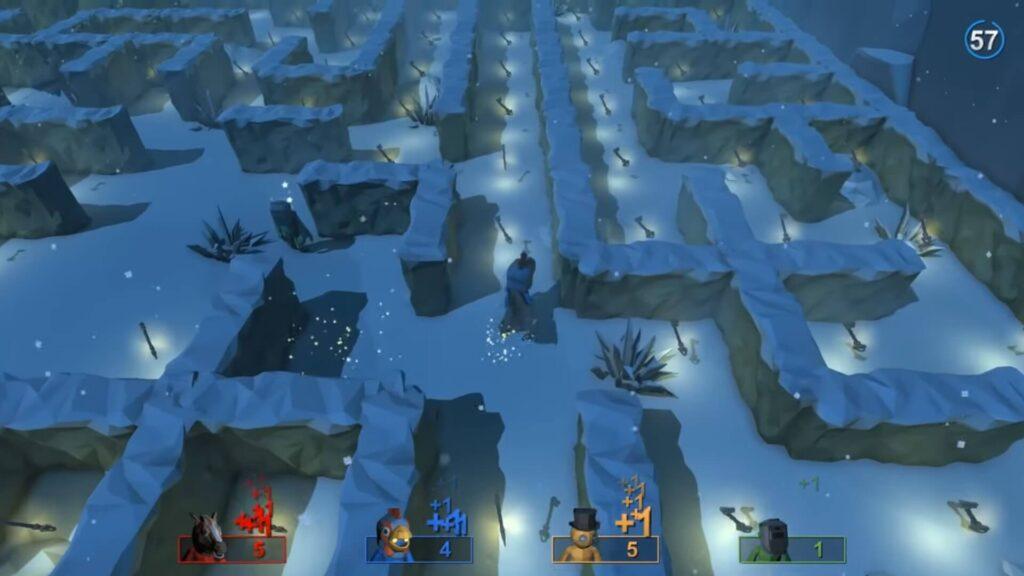 Pummel Party Morphing Maze