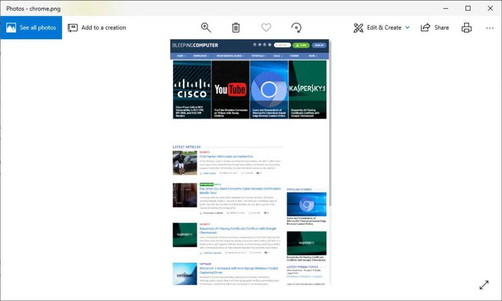 Tam sayfa ekran görüntüsü